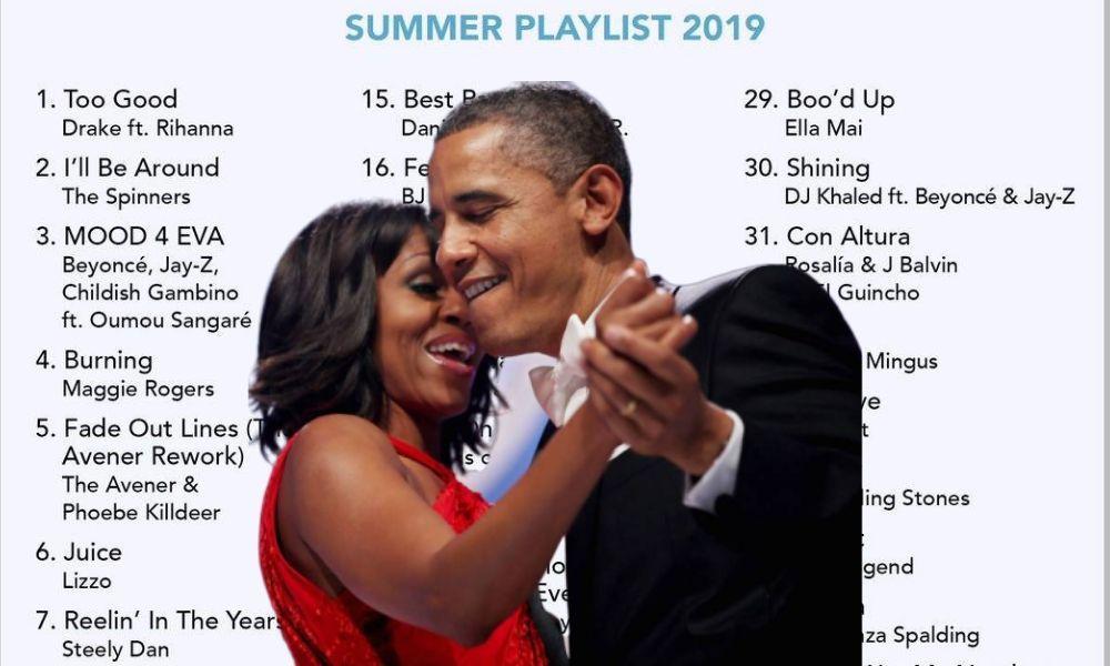 La playlist d'Obama pour cet été