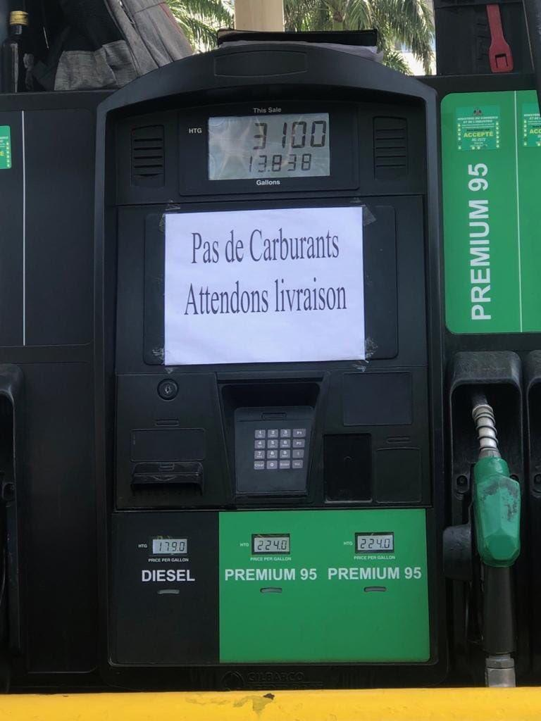 Rareté de l'essence observée dans la capitale haïtienne, l'ANADIPP n'y est pour rien