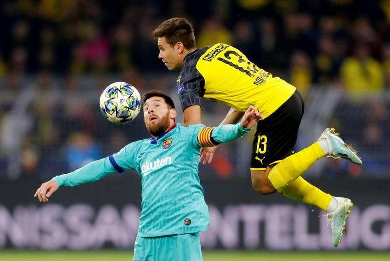 Le Barça a souffert avant de concéder le nul face au Borussia Dortmund
