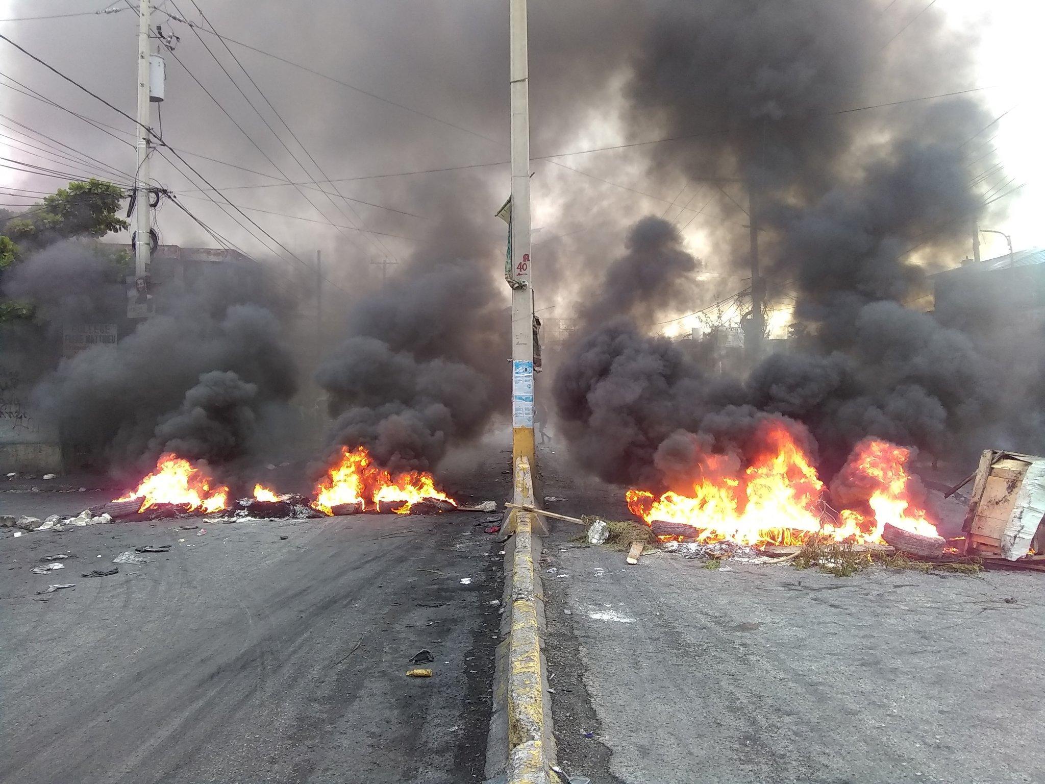 Haïti Mobilisation : Une nouvelle journée de protestation contre le pouvoir en place