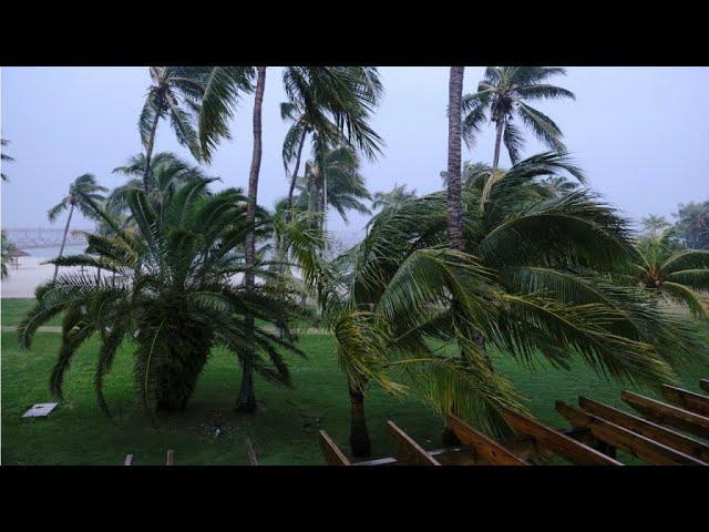 Le Bahamas est frappé de plein fouet par l'ouragan Dorian
