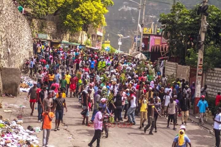 Énième journée de mobilisation anti-Jovenel dans le pays