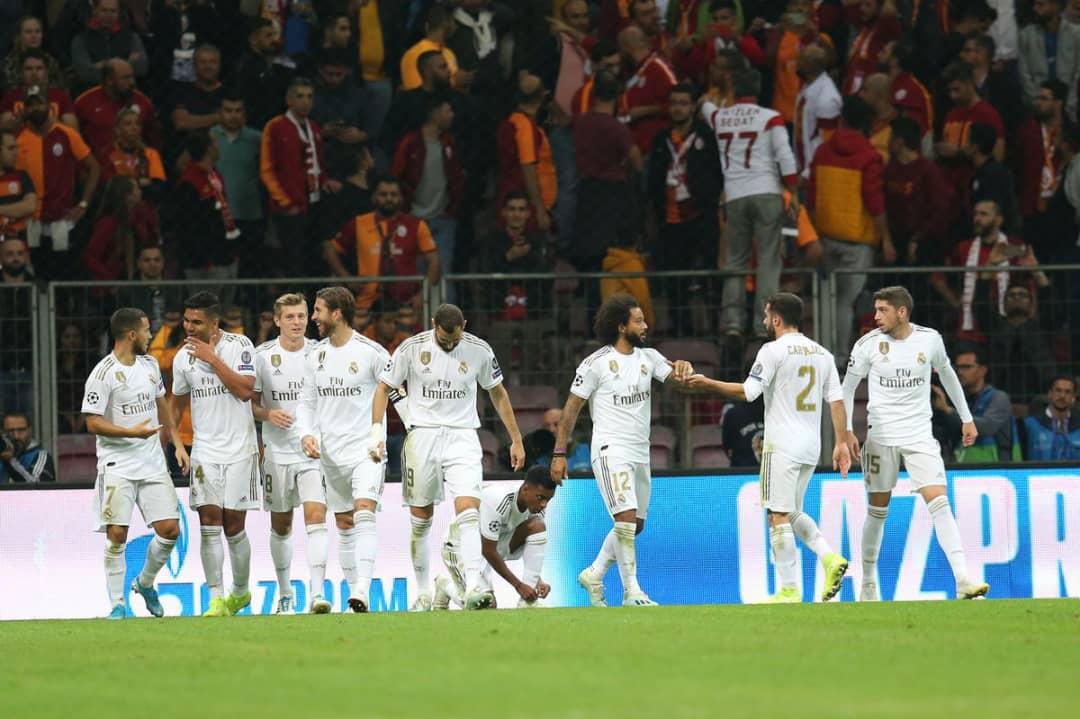 Ligue des champions : Le Real Madrid s'impose difficilement face à Galatasaray