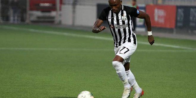 Défaite du FC Neftçi 1-2, malgré le tout premier but de Donald Guerrier sous cette couleur