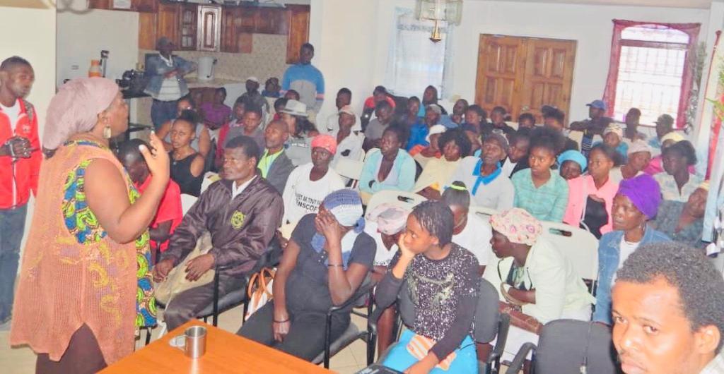 Haïti – Formation / Lancement d'une campagne de sensibilisation contre la violence à l'égard des femmes en Haïti / MOFHADER .