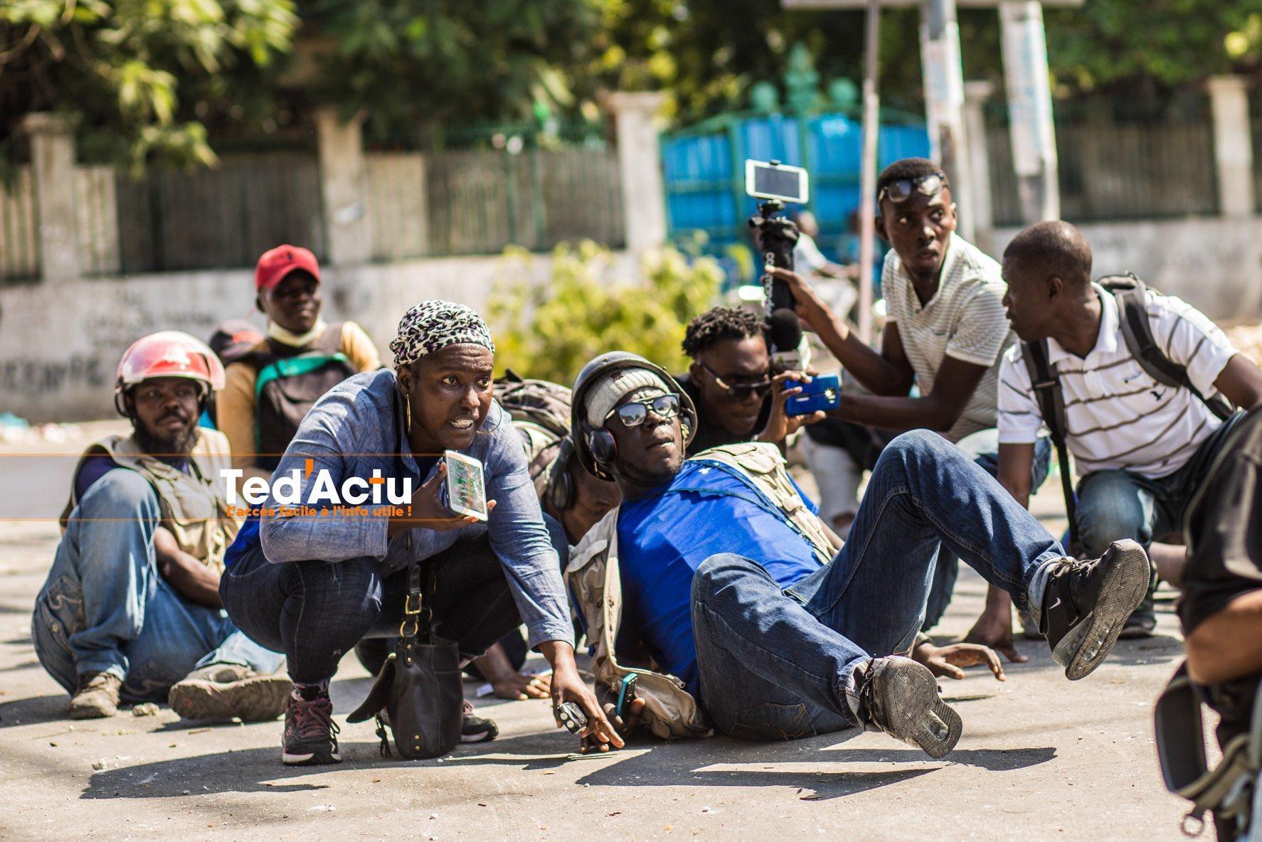 Les conditions de travail des journalistes se dégradent en Haïti