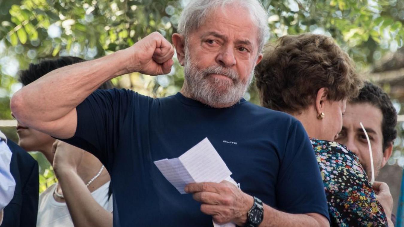Après plus d'un an et demi d'incarcération, l'ex -président du Brésil, Luiz Inacio Lula Da Silva est sorti de prison
