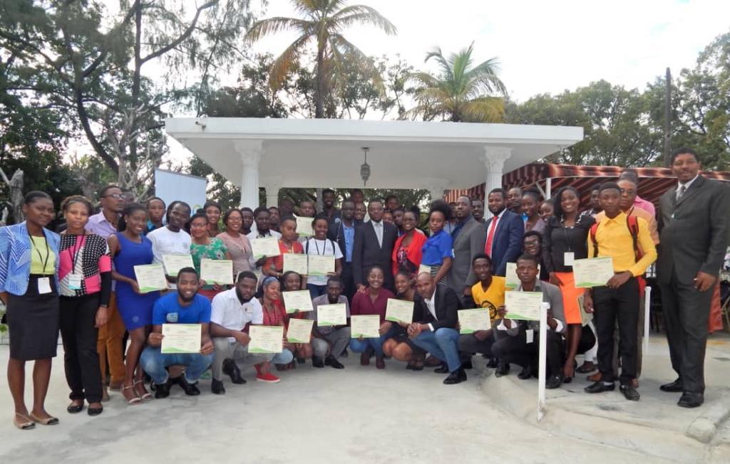 Haïti-Francophonie : Cérémonie de clôture de deux ateliers de formation organisés du 3 au 13 décembre 2019 par OIF et LAPTY