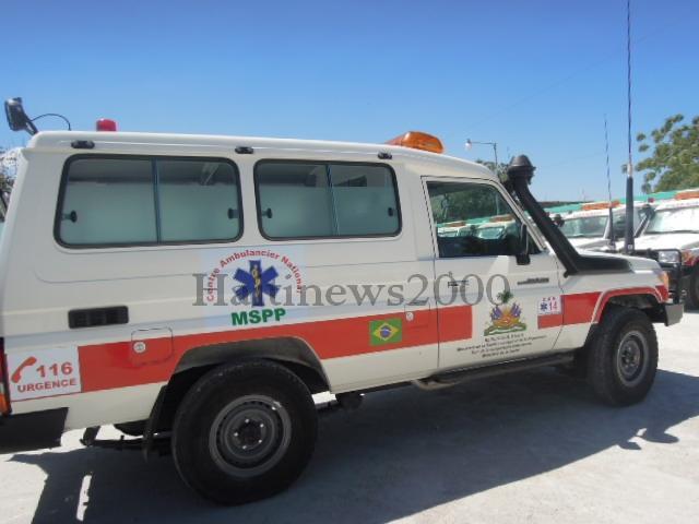 Haiti-Actualites: une ambulance de CAN détournée à Savien