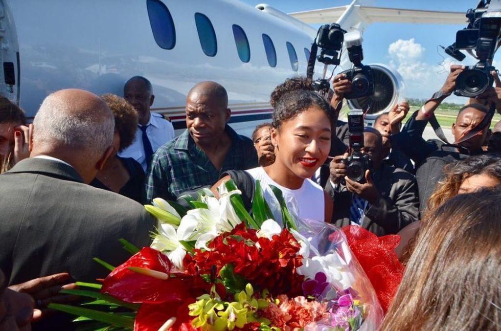 Haïti-Actualités: Naomi Osaka antre nan peyi dayiti jodia