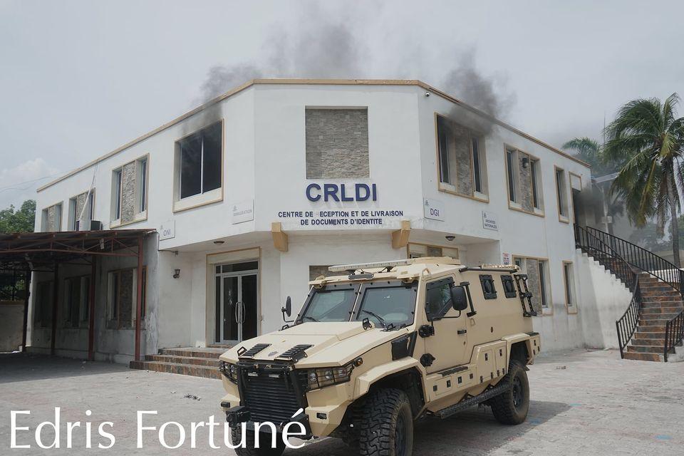 Haiti-Actualites : L'Office National d'Identification (ONI) condamne avec la plus grande véhémence  L'attaque armée suivie d'incendies perpétrée contre ses annexes