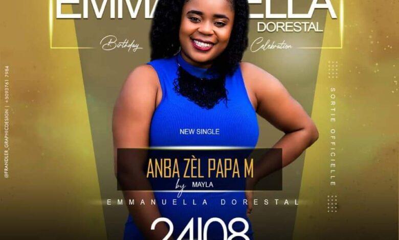 Haiti-Culture: «Anba zèl papa», le dernier né d'Emmanuella Dorestal dit Mayla