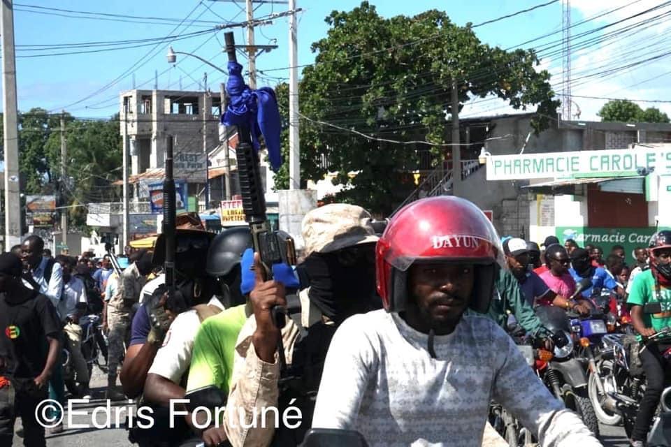 Haïti-Actualités:Augmentation de salaire des policiers: Fantôme 509 à nouveau dans les rues
