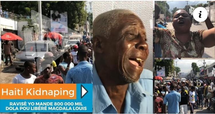 Haïti-Actualités:Vive tension aujourd'hui à l'avenue John Brown(Lalue) suite à l'enlèvement du musicien Dickens Princivil