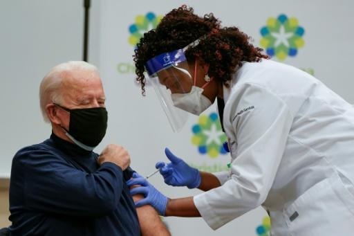 COVID-19 : Joe Biden vacciné contre le Covid-19