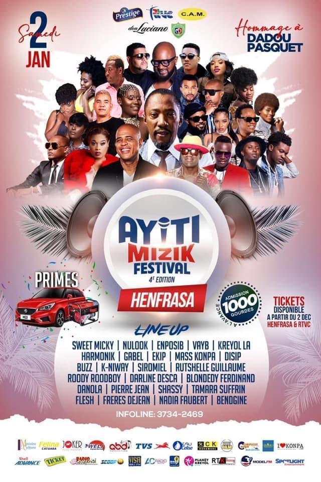 Ayiti-Mizik : Ayiti Mizik Festival anile,akoz kowonaviris