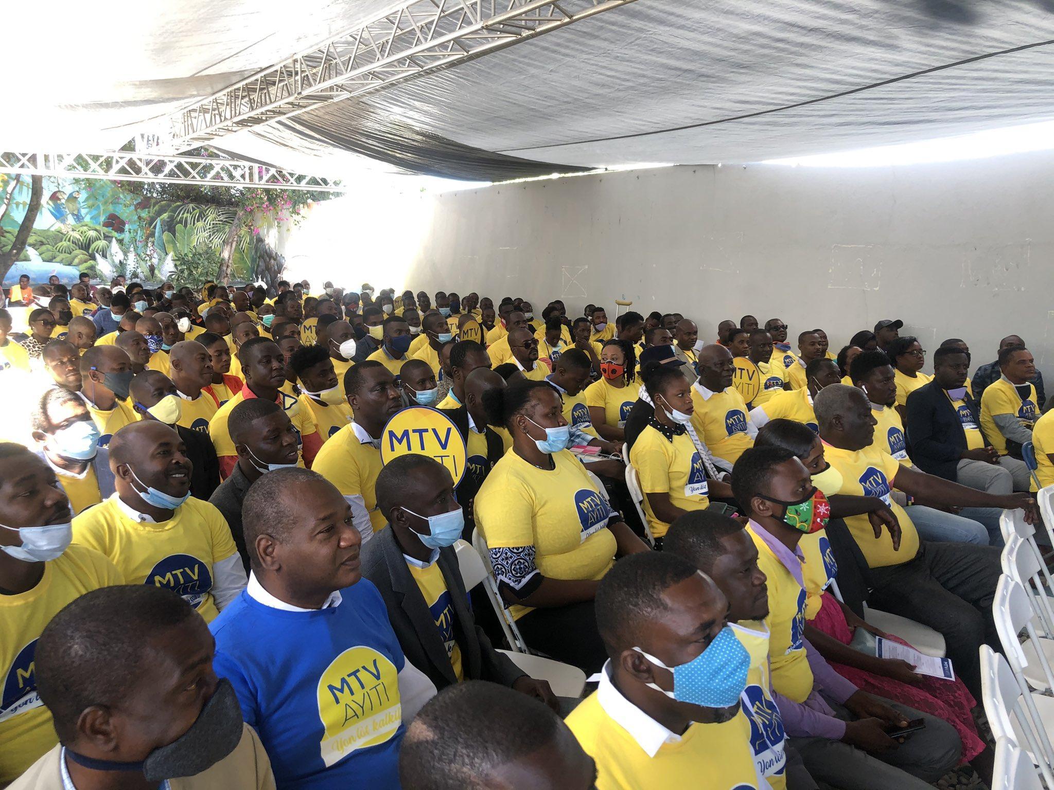 Ayiti-Politik: MTV AYITI prezante responsab kwòdinasyon rejyonal ak kominal li yo