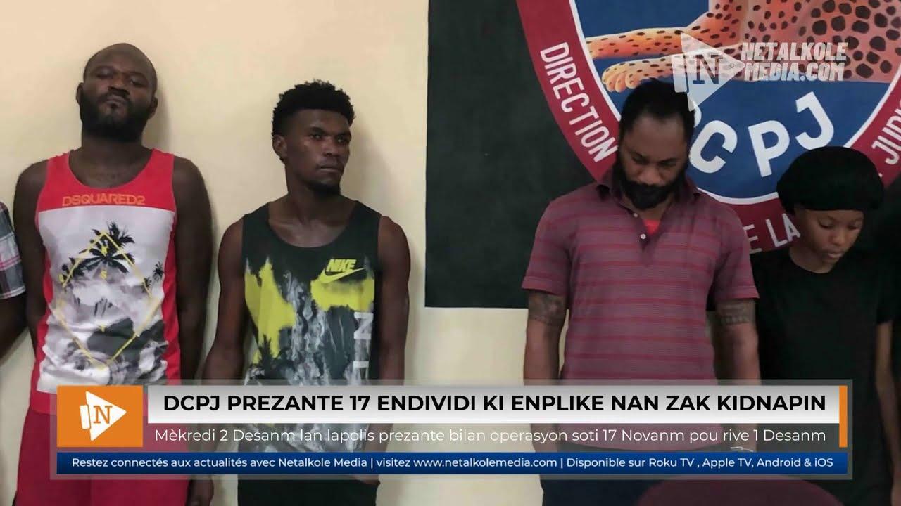 Haïti – Sécurité : 17 présumés kidnappeurs sous les verrous