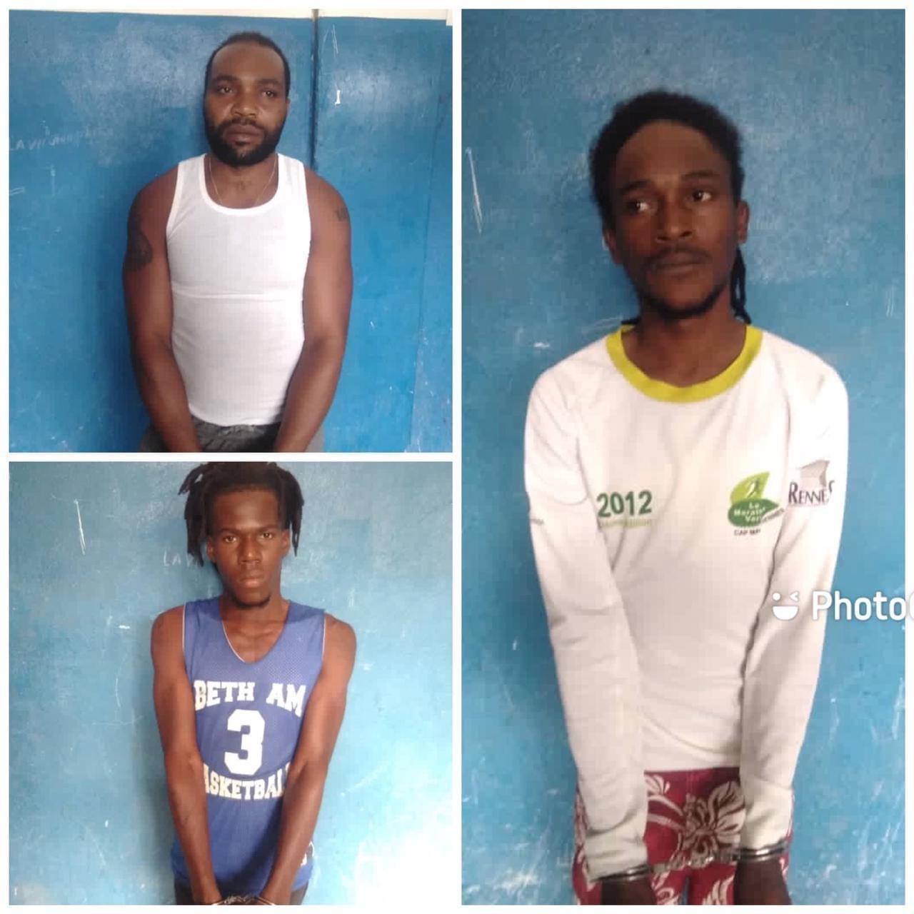 Ayiti-Sekirite: Lapolis mete lapat sou 3 bandi,nan Yon operasyon