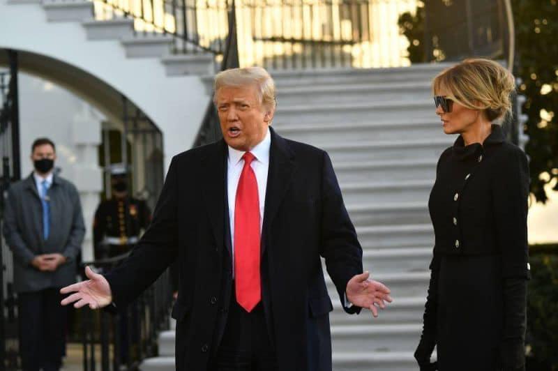 Etats-Unis: Trump a quitté la Maison-Blanche