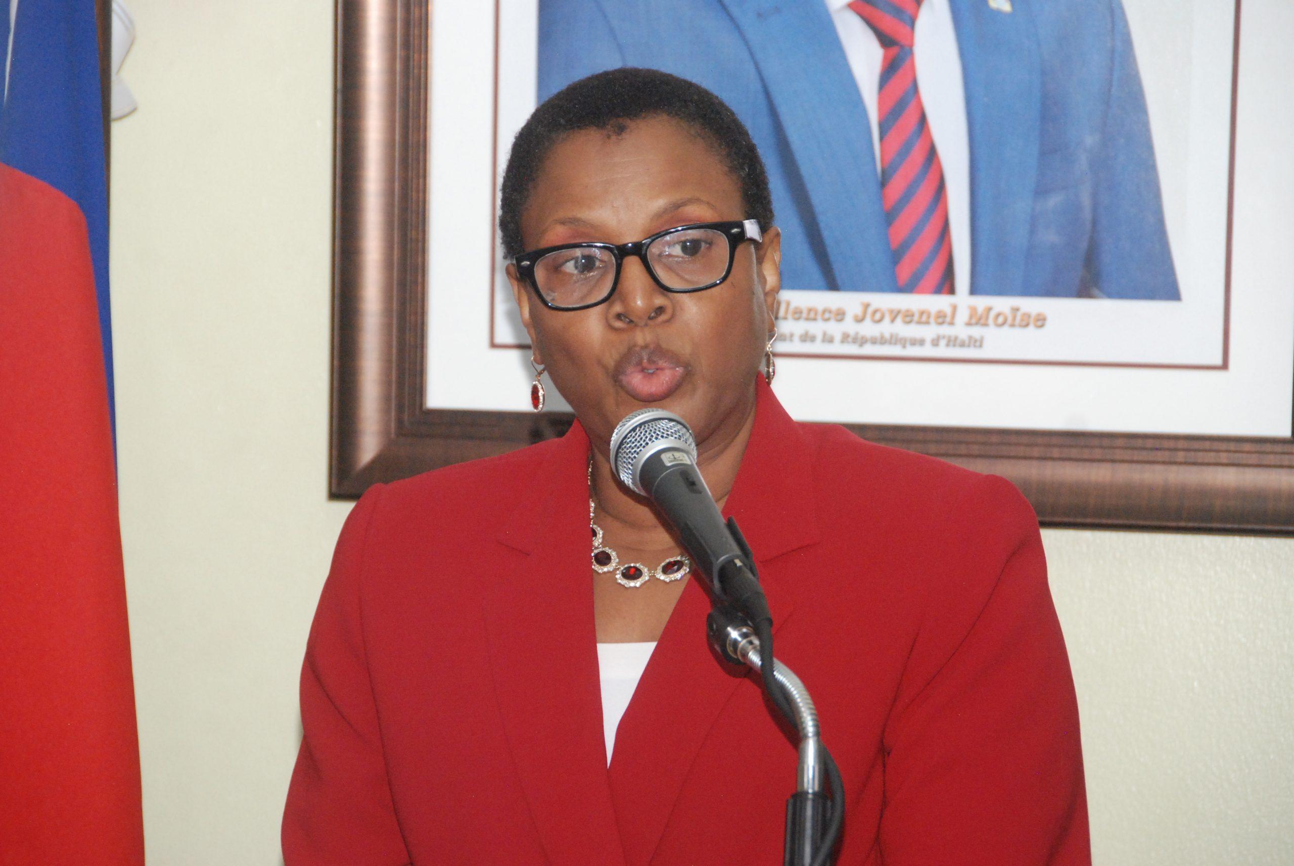 Ayiti-Aktyalite:  Nicole Yolette Altidor, revoke nan tèt ministè afè sosyal