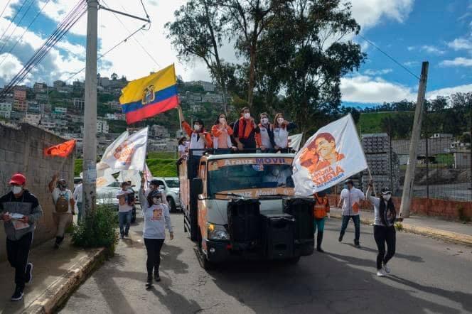 Equateur: Elections générales en  Equateur, polarisées entre gauche et droite