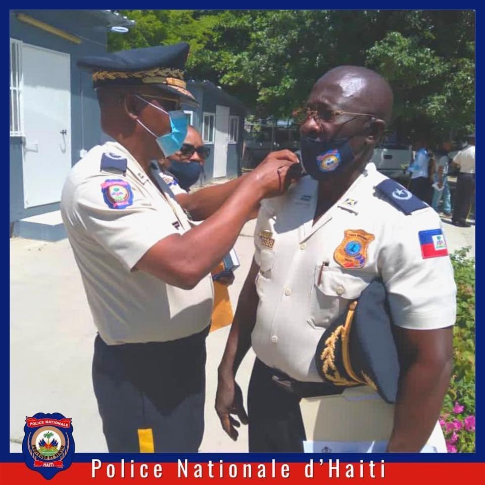 Ayiti-Sekirite: Chanjman nan wo kòmandman PNH la