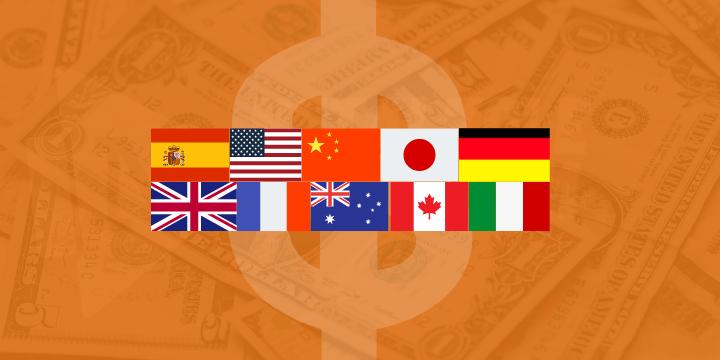 Les 10 pays qui comptent le plus de millionnaires en dollars dans le monde