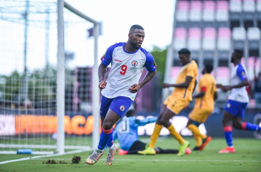 Barrages Gold Cup: Haïti pulvérise Saint-Vincent et les Grenadines